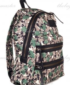 Marc Jacobs Green Camo Packrat backpack