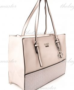Guess Ashling Carry All Bag - Nude with Logo