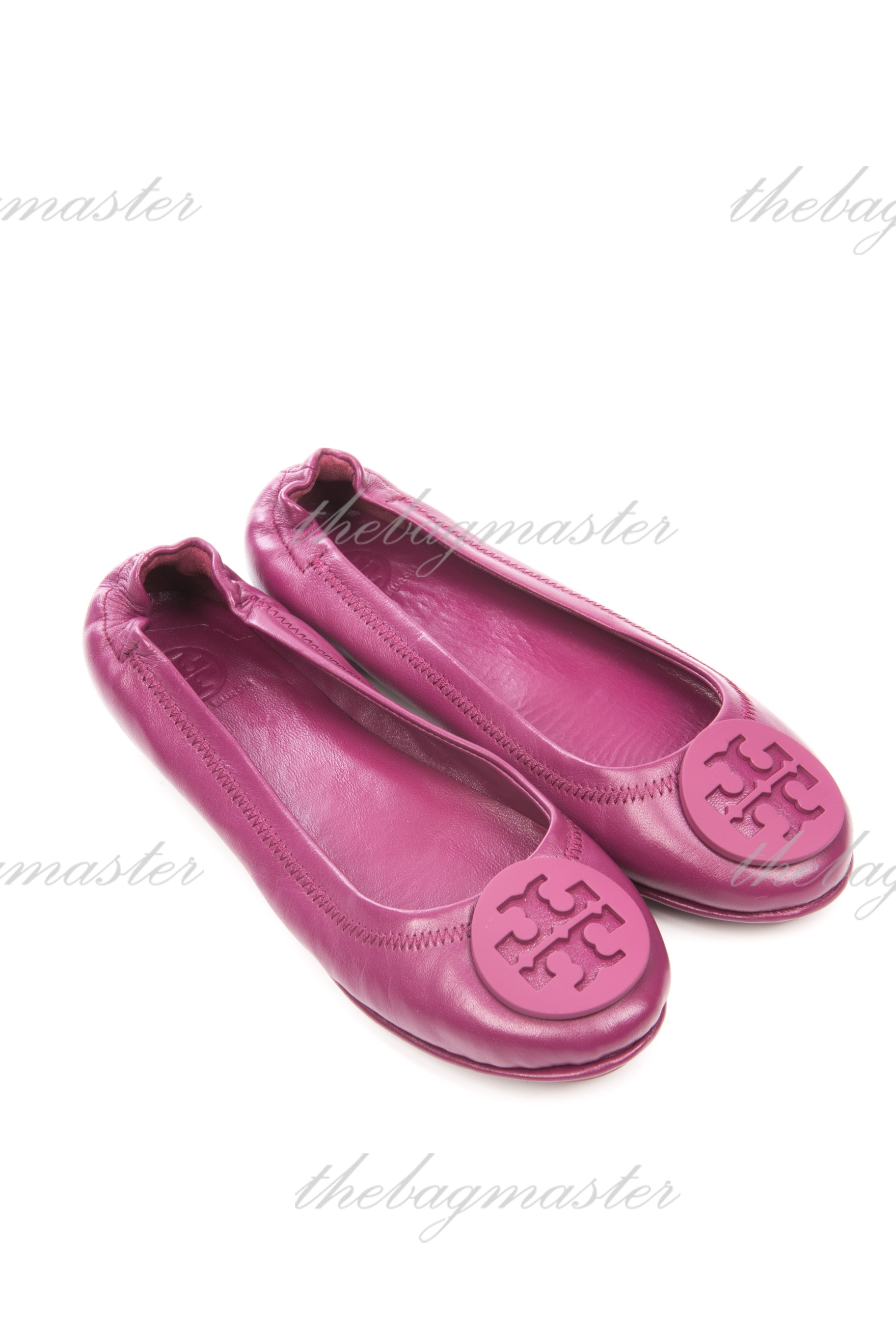 018646858c73 Tory Burch Minnie Travel Logo Ballerina Flat - Shiraz (Size 6) — The ...
