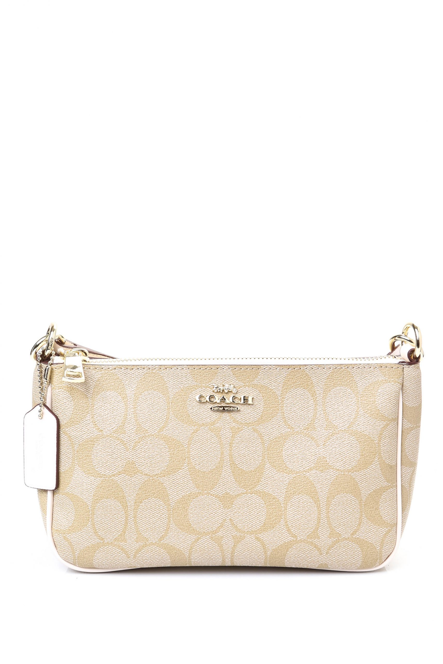 Coach Chelsea In Signature Canvas Sling Bag Cream Chalk The Lifestyle Store